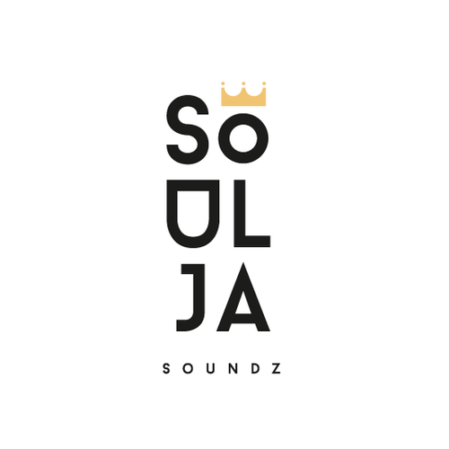 Headphone logo with the title 'Logo for Soulja Soundz Brand'