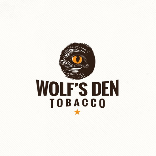 Wolf logo with the title 'Wolf's Den - Tobacco'