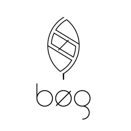 Ambigram logo with the title 'Creative logo for bøg'