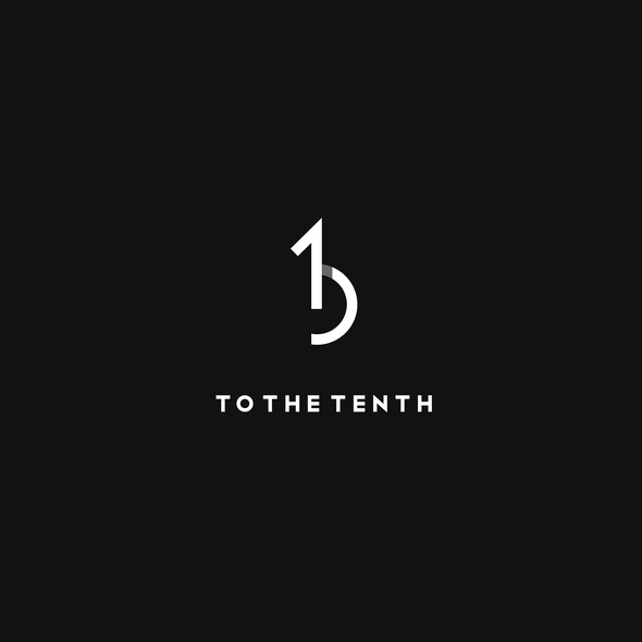 Ten design with the title 'To the Tenth'