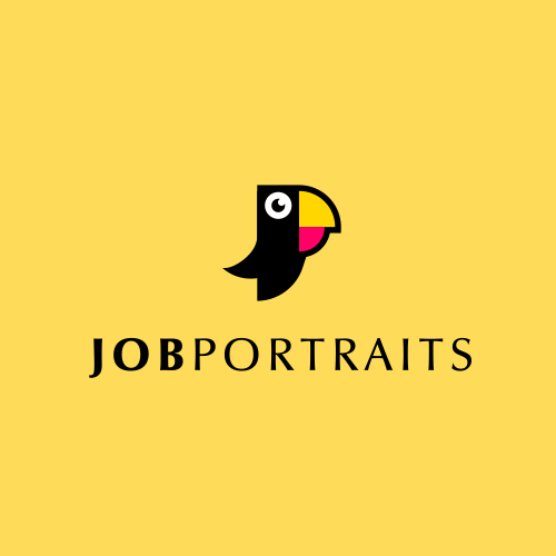 Pictogram logo with the title 'parrots + JP'