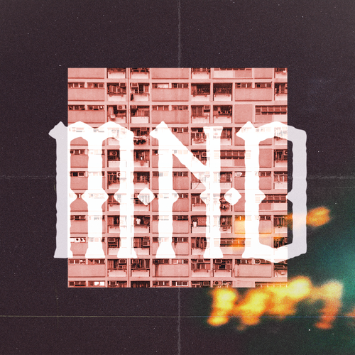 Name design with the title 'M.N.D'