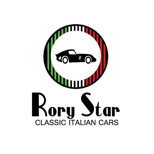 Dealership design with the title 'logo for a classic italian car dealership'