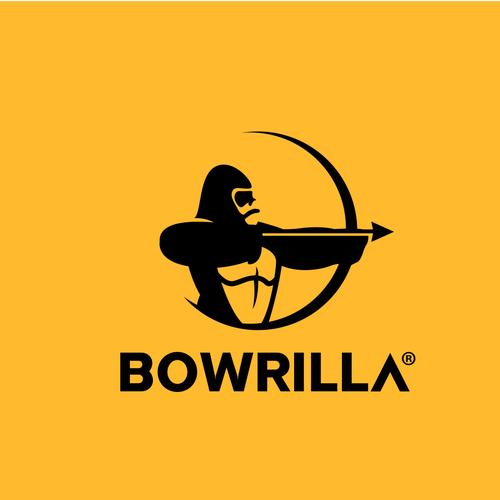 Gorilla logo with the title 'Bowrilla'