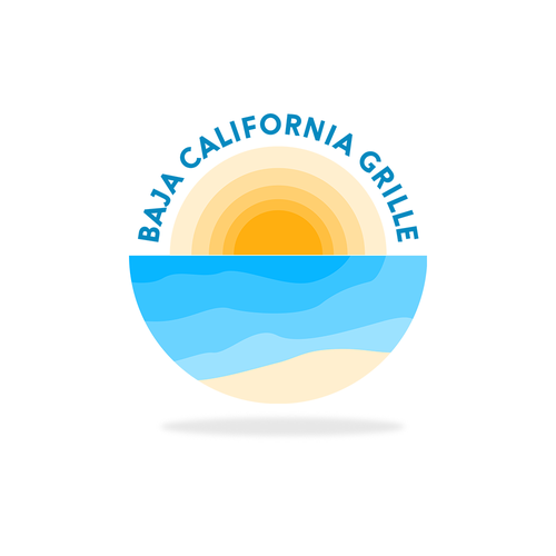 Chill logo with the title 'Fresh Vibes Sun and Beach Logo'