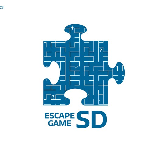 San Diego logo with the title 'Entry for an escape game company'