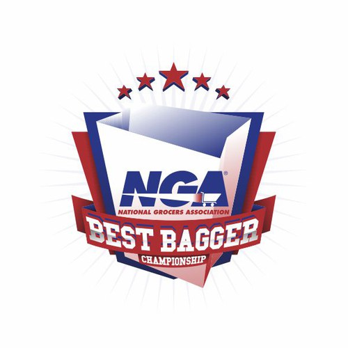 Championship design with the title 'NGA Best Bagger Championship'