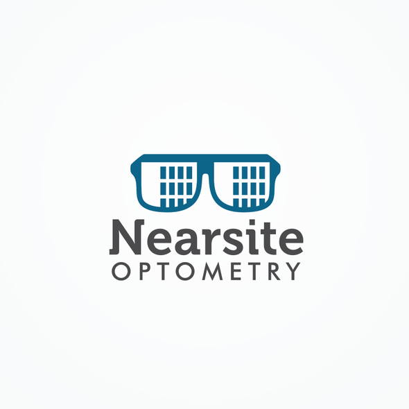 Ophthalmology logo with the title 'Design an innovative logo for an innovative vision care provider,Nearsite Optometry'