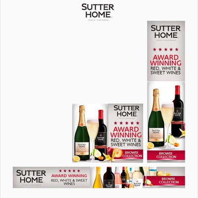 Banner Ads For Winery