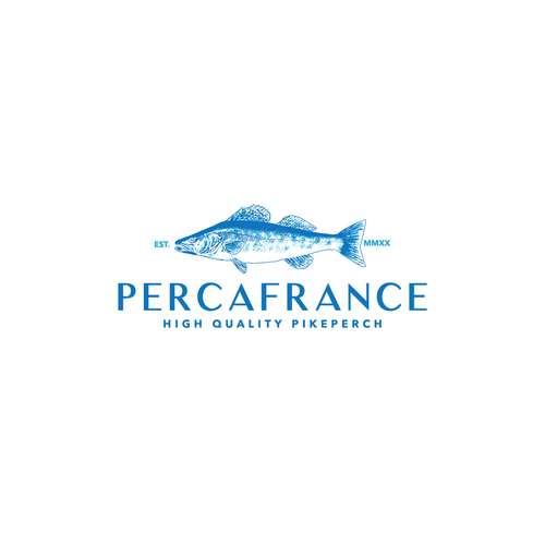 Kick-ass logo with the title 'Percafrance'