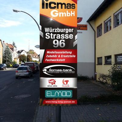 licmas benötigt ein signage