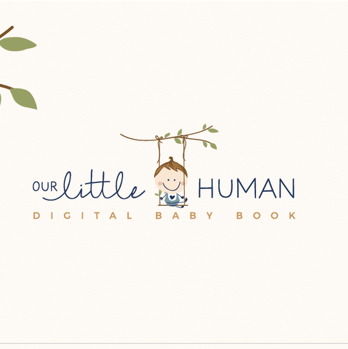 Bohemian design with the title 'Our little human '