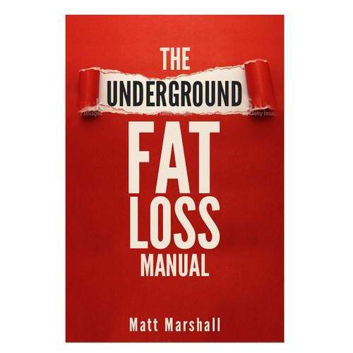 Diet book cover with the title 'This Banned Fat Loss Book Needs a Kick-Ass Cover. You in?'