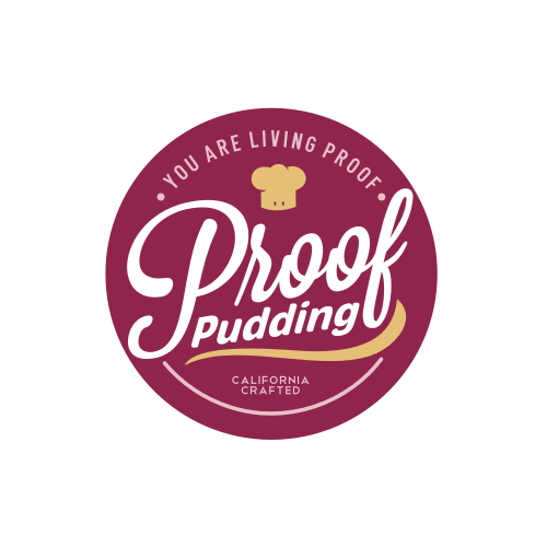 Snack logo with the title 'Pudding'