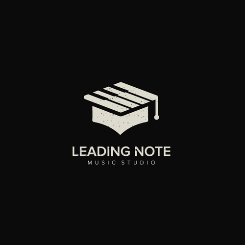 Piano logo with the title 'Leading Note Music Studio'