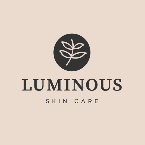 Feminine logo with the title 'LUMINOUS'
