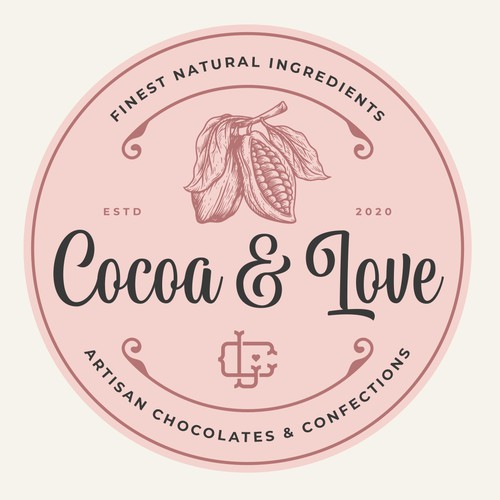 Cocoa logo with the title 'Cocoa & Love'