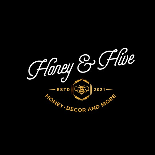 Restaurant design with the title 'Logo for a honey manufacturer'