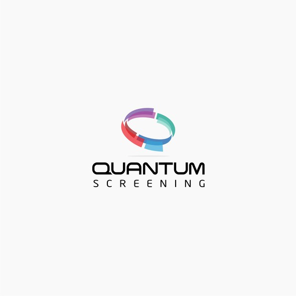 Research brand with the title 'Quantum screening'