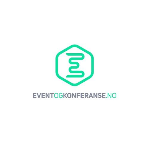 Agency design with the title 'eventogkonferanse.no branding'