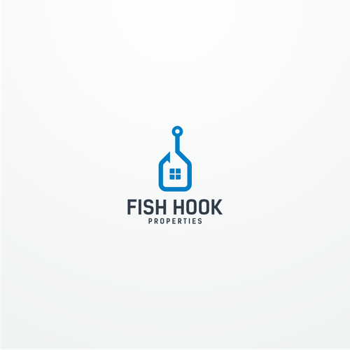 Combination logo with the title 'Fish Hook Properties'