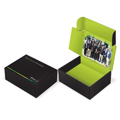 TeamLogic Mailing Box design