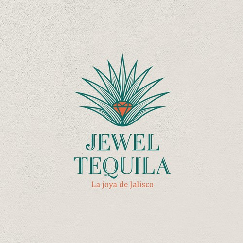 Jewel design with the title 'Jewel Tequila'
