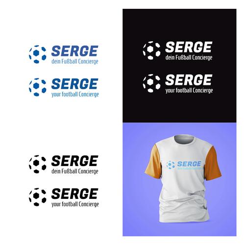 Futbol logo with the title 'SENGE FOOTBAAL'