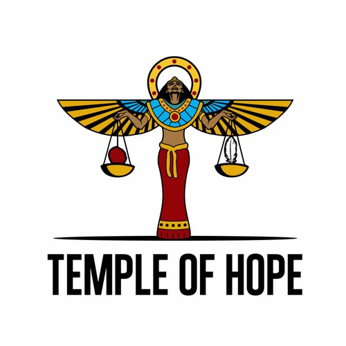 Esoteric logo with the title 'Temple of Hope'