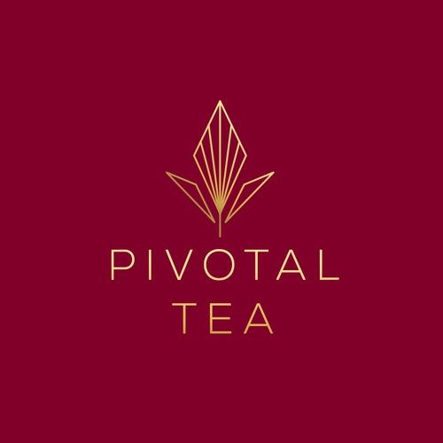 Logo with the title 'Pivotal Tea Logo'