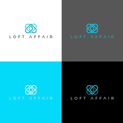 Hospitality logo with the title 'Loft Affair'