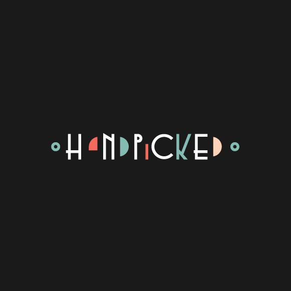 Progressive design with the title 'Handpicked'
