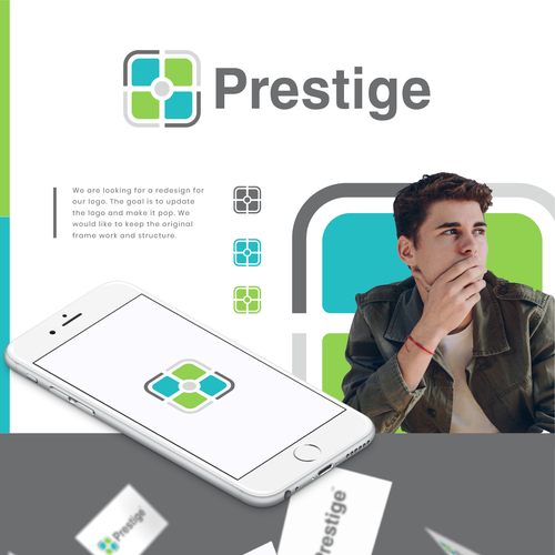 Photo design with the title 'Prestige'