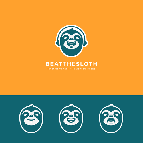 Amusement logo with the title 'Beat The Sloth'