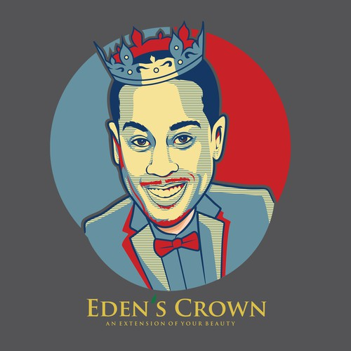 Face t-shirt with the title 'T-shirt for Eden's Crown'