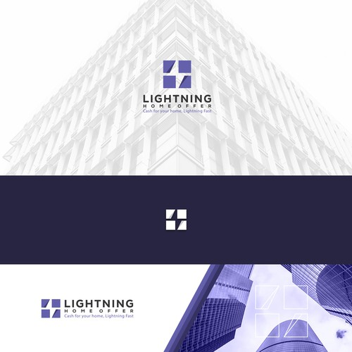 Bolt design with the title 'Lightning Home Offer'