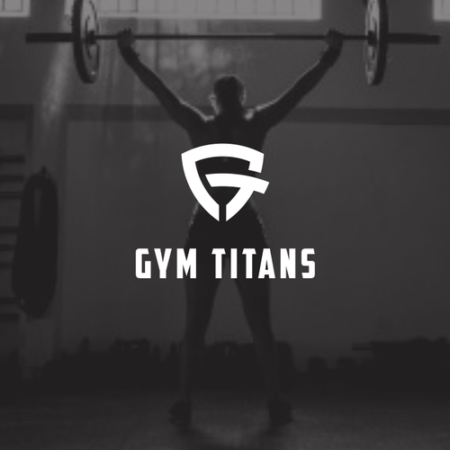 Titan logo with the title 'GYM'