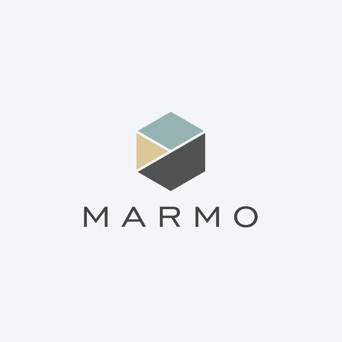 Marble design with the title 'MARMO'