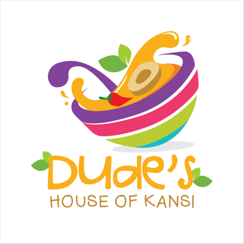 Soup logo with the title 'The deliciousness of a bowl of Kansi. '
