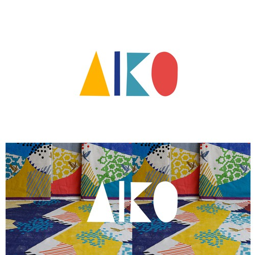Accessories logo with the title 'AIKO'