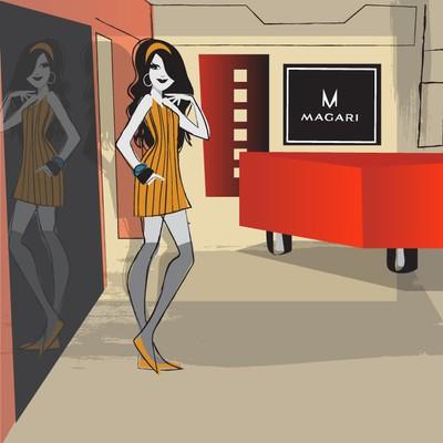 illustration for magari