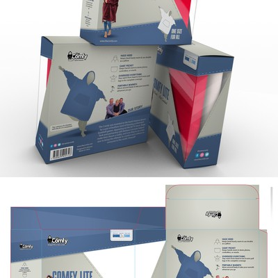 Design a package for an ABC's Shark Tank Product