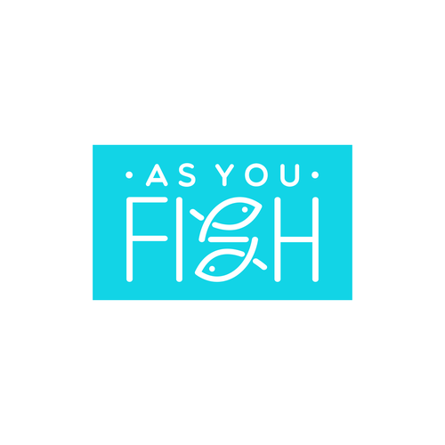 Conceptual design with the title 'AS YOU FISH'