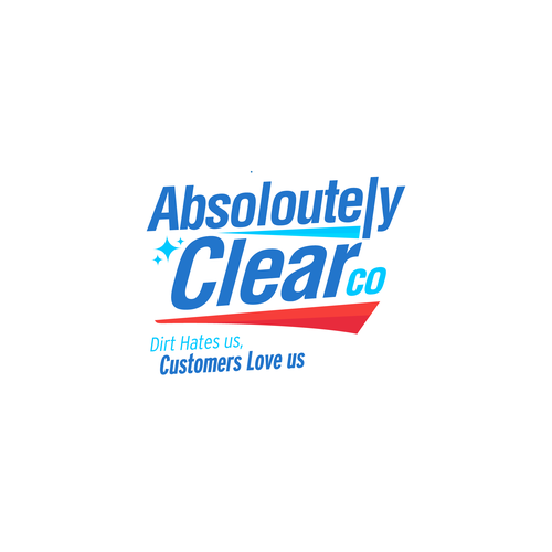 Cleaning brand with the title 'Cleaning Logo'