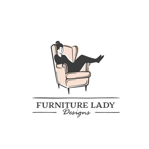 Furniture logo with the title 'Furniture Logo'