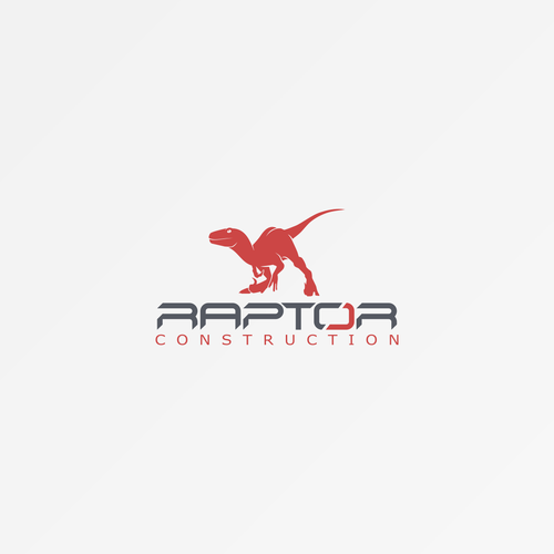 Raptor logo with the title 'Concept for Construction Company'