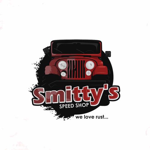 Restoration logo with the title 'Logo for car workshop'
