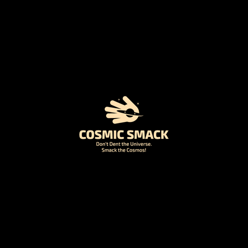 Cosmos design with the title 'Logo design entry'