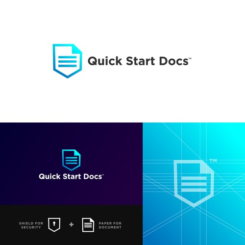 Document logo with the title 'Quick Start Docs'