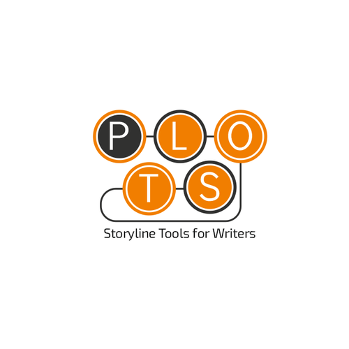Typewriter logo with the title 'Logo concept for writers storyline tools'